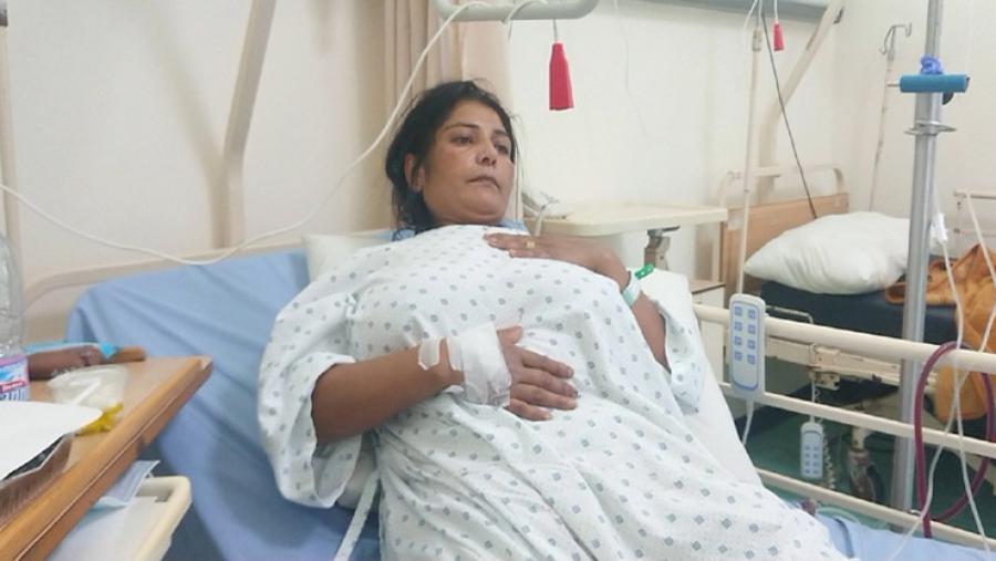 Bangladeshi woman sustains bullet injury during anti-Israel protest in Lebanon
