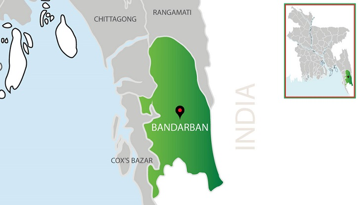 3 bodies recovered from a house in Bandarban