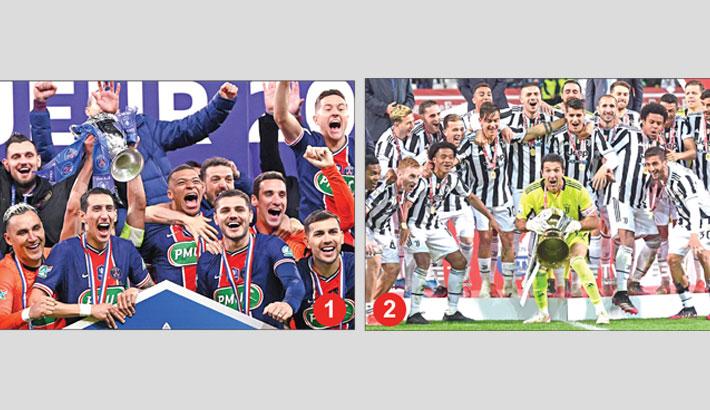 Juventus, PSG clinch Cup titles