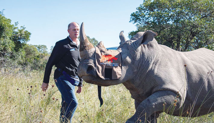 Nuclear science utilised to protect African Rhino