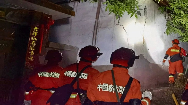 At least 3 dead, 27 hurt as quake shakes southwest China