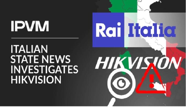 Italian State News Investigates Hikvision