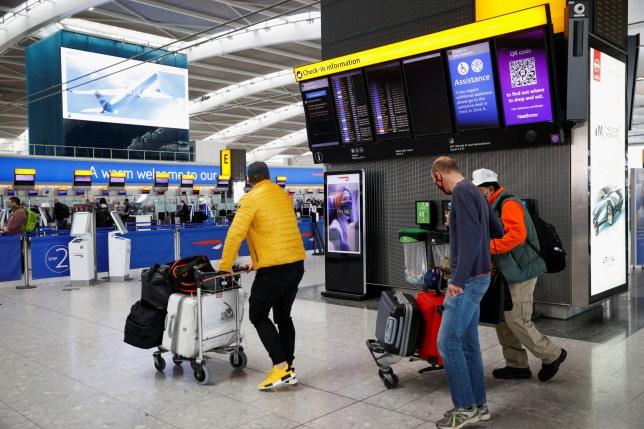 Germany to ban UK travellers entering country from Sunday