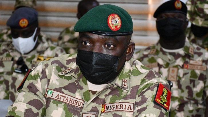 Nigeria's army chief, 10 others killed in military plane crash: army spokesman