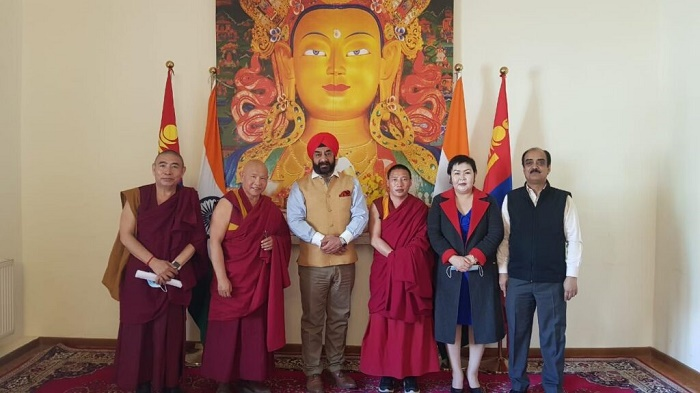 Tibetans in Mongolia donate to PM CARES FUND