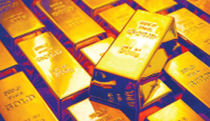 Gold prices rise again by Tk 2041 per bhori