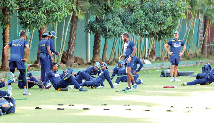 Visiting two Sri Lanka cricketers test positive for COVID-19