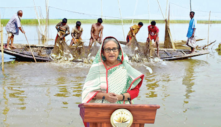 PM urges youths to be self-reliant thru fish farming