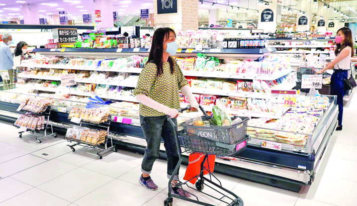 Japan's consumer prices extend falls