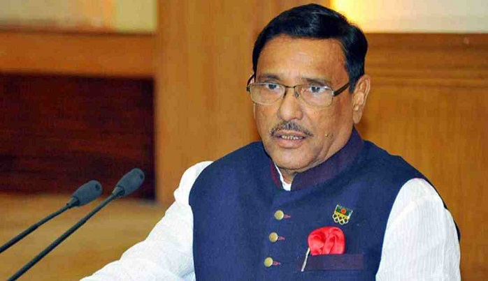 Judiciary is independent, says Quader after Rozina's bail