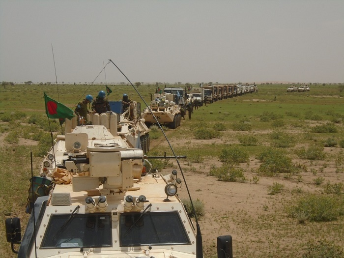 Operational success of the Bangladesh Peacekeeping Force against armed terrorists in Mali