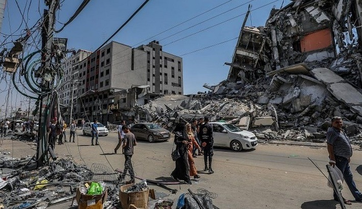 Israel-Palestinian conflict: Eyes on peace options as Gaza truce holds