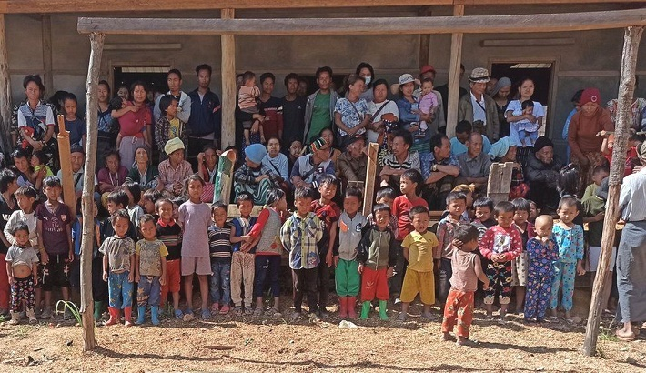 Myanmar: The small embattled town that stood up to the army