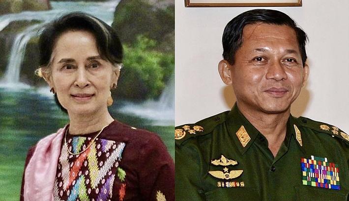 Myanmar coup: Junta head claims Suu Kyi 'in good health'