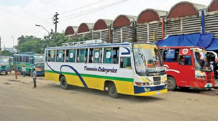 Buses, trains, launches start operating at half capacity; passengers happy