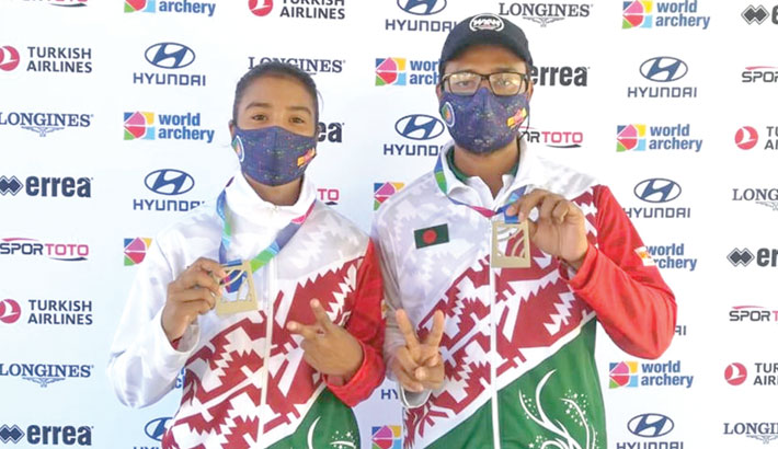 Archers had to be satisfied with silver in World Cup