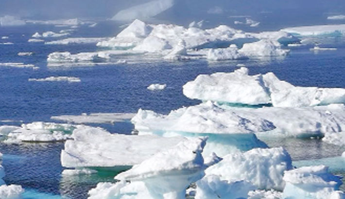 Arctic warming three times faster than the planet