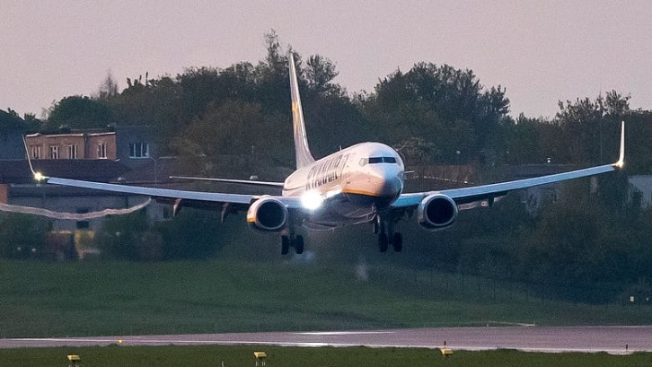 Lithuania bans all flights from crossing Belarus airspace