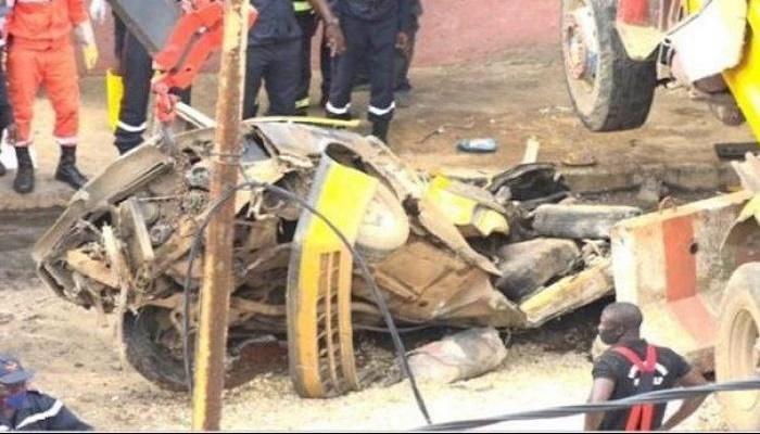 Lorry crash kills 14 in Guinea-Bissau