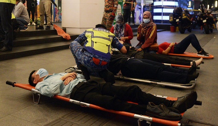 Kuala Lumpur metro train crash injures over 200 passengers