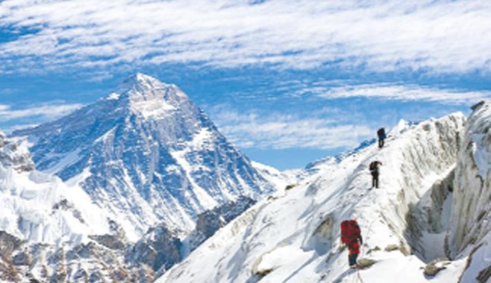 Everest climbing continues despite reports of corona