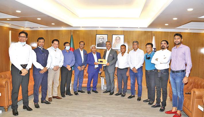 BGMEA leaders meet FBCCI president