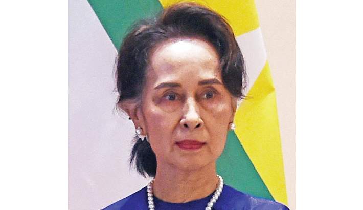 Suu Kyi makes first court appearance