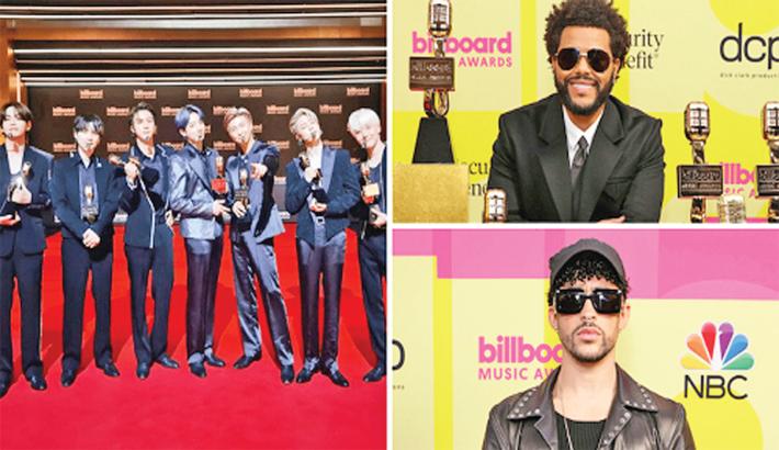The Weeknd, BTS, Bad Bunny win big at Billboard Music Awards
