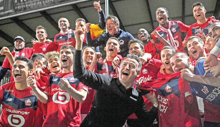 Lille clinch French Ligue 1 after a decade