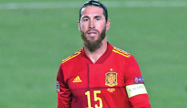 Spain leave Ramos out of youthful Euro squad