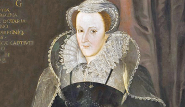Mary Queen of Scots beads stolen in raid