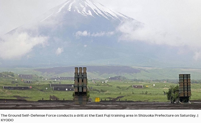 Japan's Self-Defense Forces conduct live-fire drill in scenario for defending remote islands