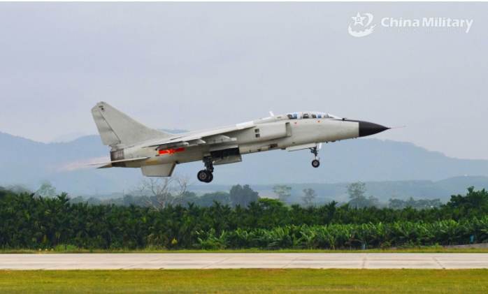 PLA warplanes rain down thousands of munitions in S. China Sea shooting exercise