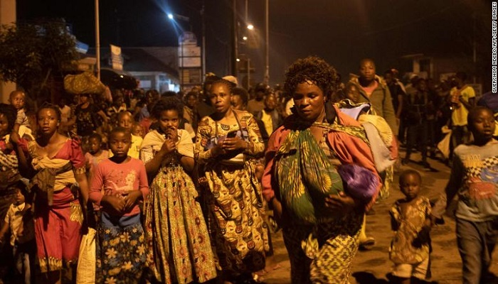 At least 31 dead and thousands displaced after volcanic eruption in DR Congo