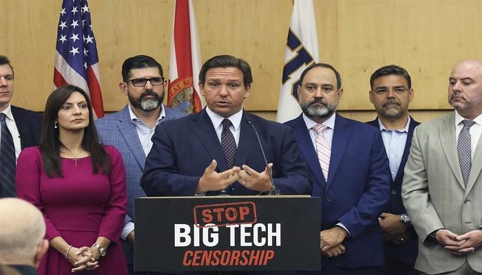 Florida governor signs bill to ban Big Tech 'deplatforming'
