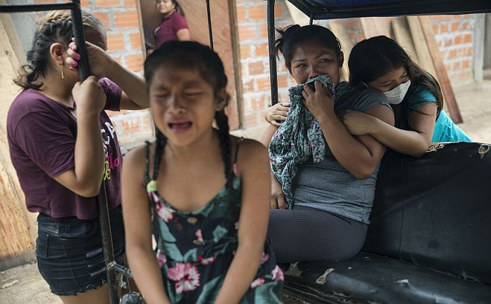 Two children among 18 killed in Peru coca-growing region