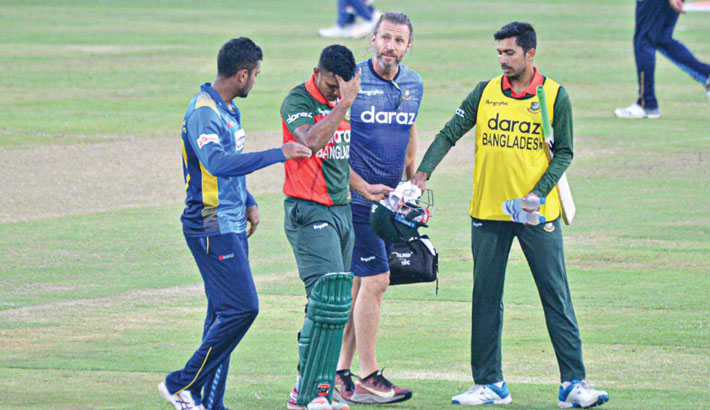 Dhaka witnesses first concussion substitute