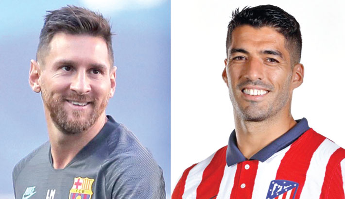 Suarez delighted if Messi stays at Barca