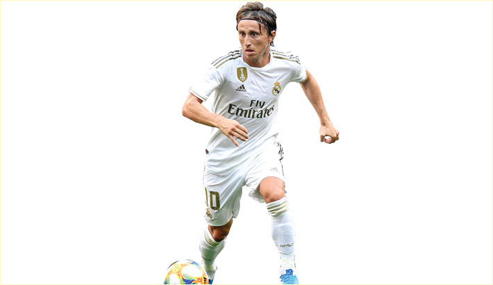 Modric signs new Real deal until end of next season