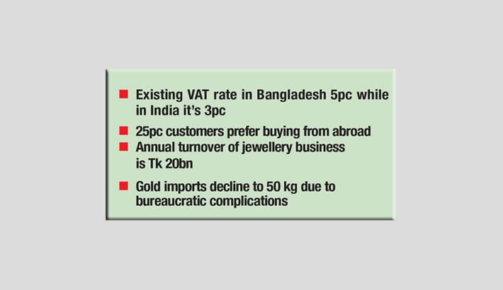 Jewellers seek cut in customs duty, VAT rate