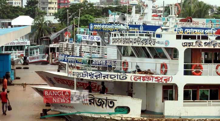 River transport services resume