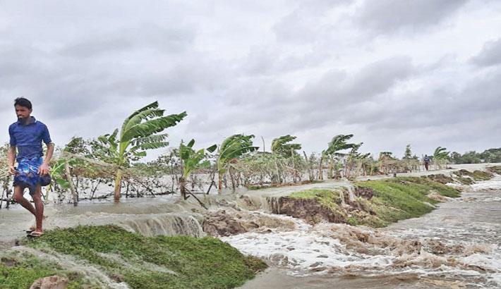 Cyclone 'Yaas' devastates different parts of the country's southwestern region