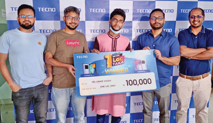 TECNO gives prizes to winners of cashback offer