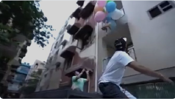 India YouTuber arrested for 'flying' dog with helium balloons