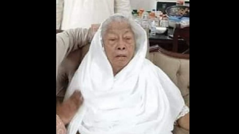 Health minister's mother Fouzia Maleque passes away