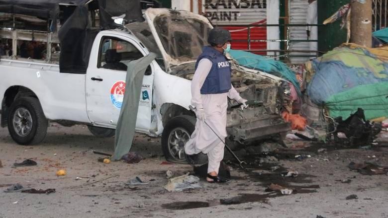 5 injured in Pakistan bomb attack