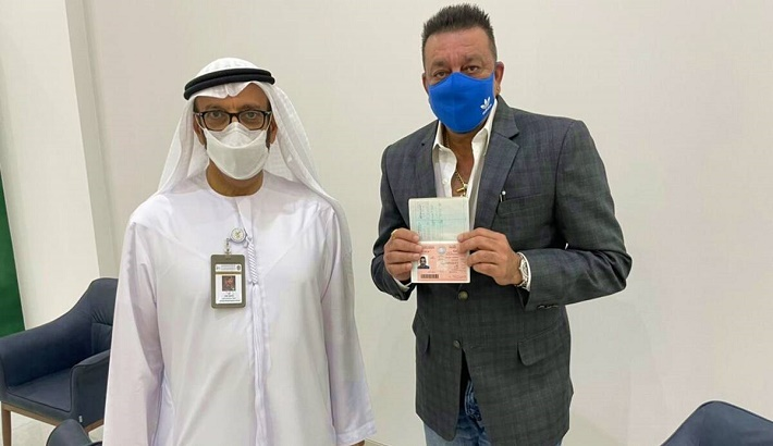Sanjay Dutt receives golden visa for UAE