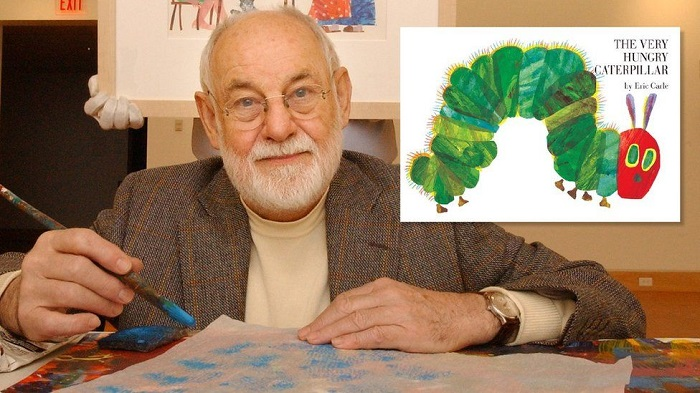 Very Hungry Caterpillar author Eric Carle dies aged 91