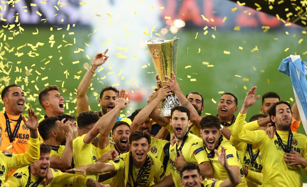 Villarreal edge Man Utd in epic shootout to win Europa League
