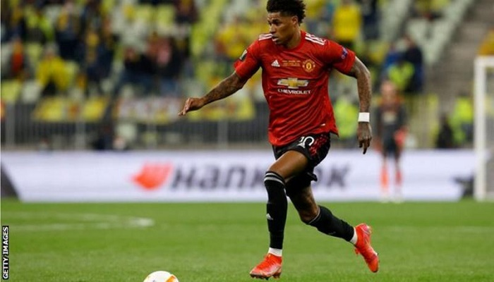 Marcus Rashford: Manchester United striker highlights racial abuse after Europa League loss